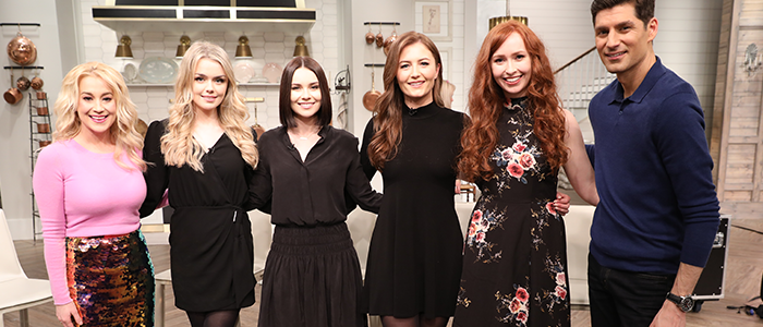Celtic Woman Pickler & Ben TV Appearance Tuesday 16th April