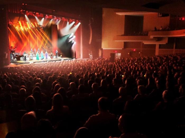 Full House at 'Homecoming' show in Durham, North Carolina