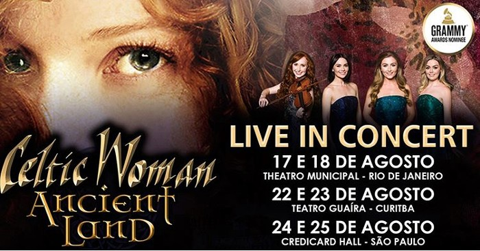 Celtic Woman Announce Tour Dates in Brasil