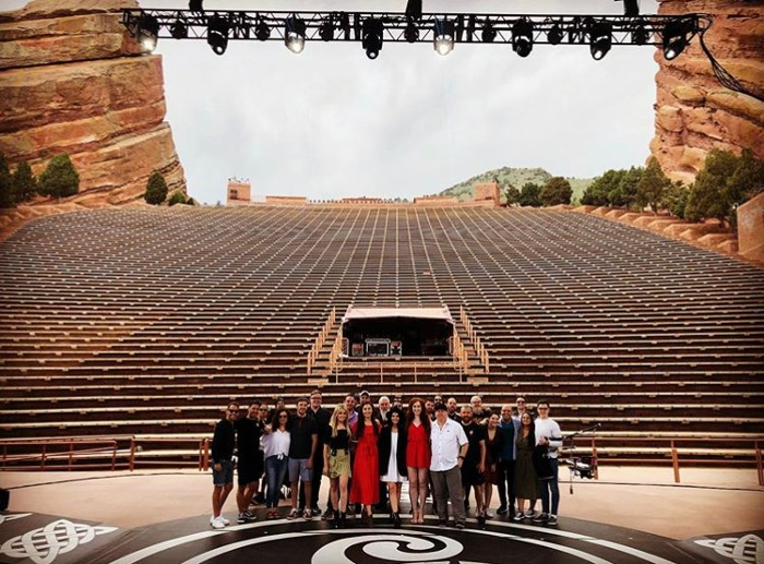 North American Tour Finale at Red Rocks, Colorado