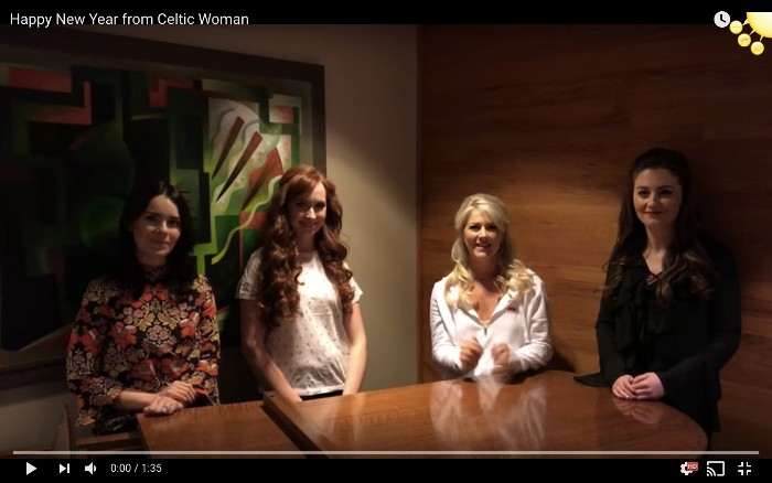 New Year Greeting from Celtic Woman