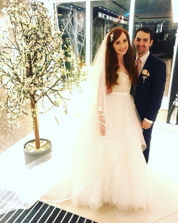 Congratulations to Tara on her wedding day
