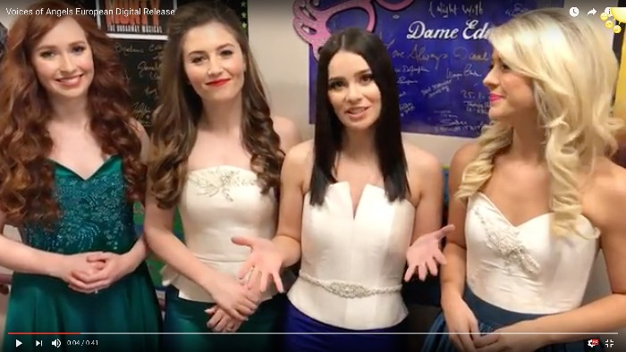 Celtic Woman announce the digital release of 'Voices of Angels' across mainland Europe.