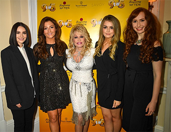 Celtic Woman attend 9 to 5 premiere at Savoy Theatre London