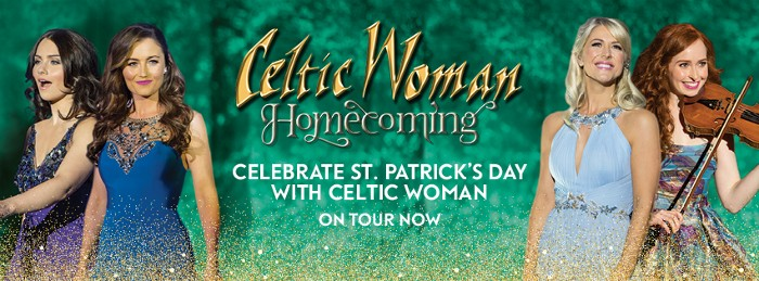 Happy St Patrick's Day from Celtic Woman !