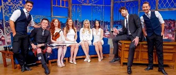 Celtic Woman perform on The Noite show, Brazil