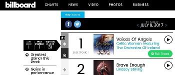 Celtic Woman Top Billboard Charts