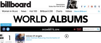 Celtic Woman celebrate 11th consecutive Billboard no. 1 entry