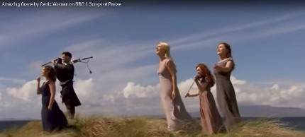 Spectacular performance of Amazing Grace by Celtic Woman on BBC1 'Songs of Praise'.